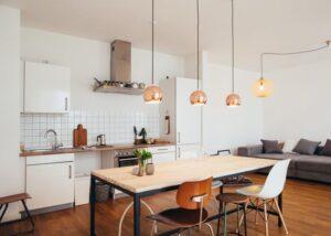 تنظیم طول وسایل تامین روشنایی ارتفاع سقف