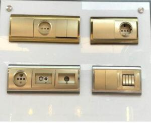 نمونه ای کلید و پریزهای مدرن