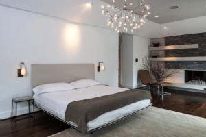 چراغهای تزیینی با نور کم مناسب اتاق خواب