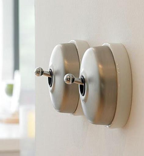 انواع کلید برق خانگی - کلید برق توکار